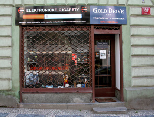Elektronick cigareta prodejna Gold Drive, Prokopova 13, Praha 3