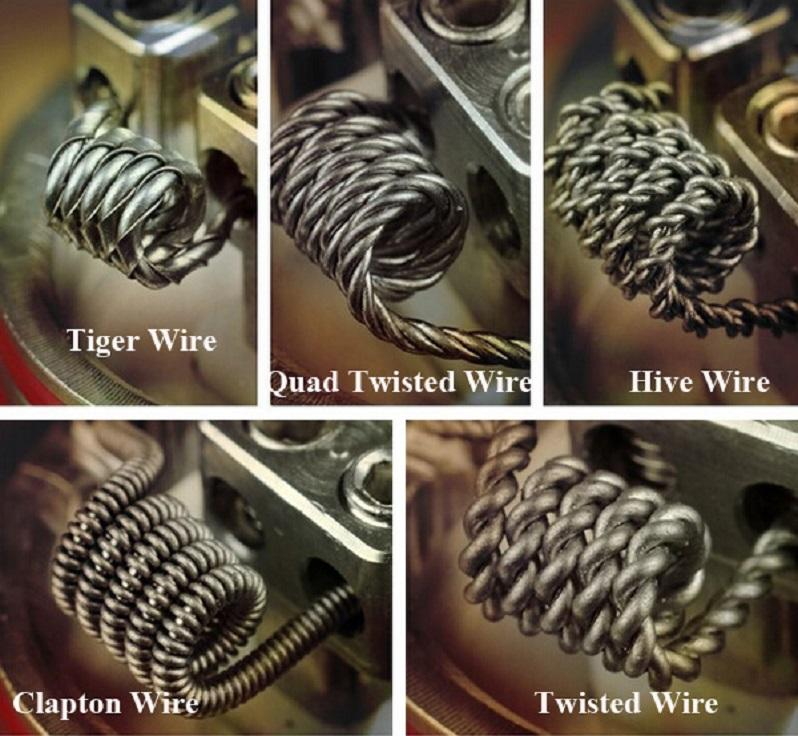 Kanthal A1 - Clapton a Twisted wire