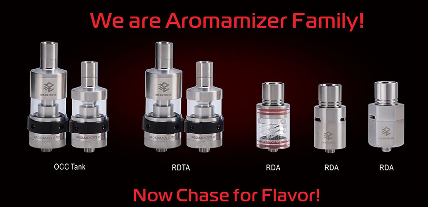 Steam Crave Aromamizer RDTA and RDA