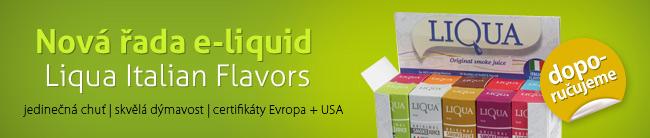 E-Liquid Liqua Italian Flavors pro vaši elektronickou cigaretu